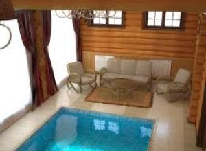 Сауна для двоих с бассейном Уфа, помещения сауны в Уфе